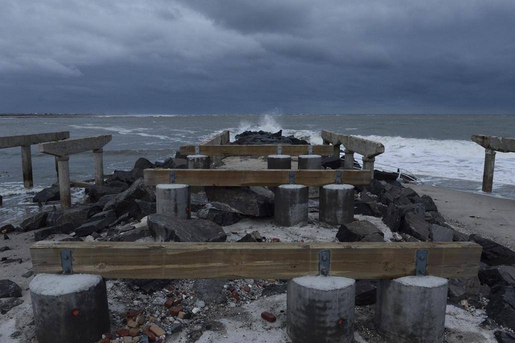 New Jersey, Atlantic City - Sandy hurrikán
