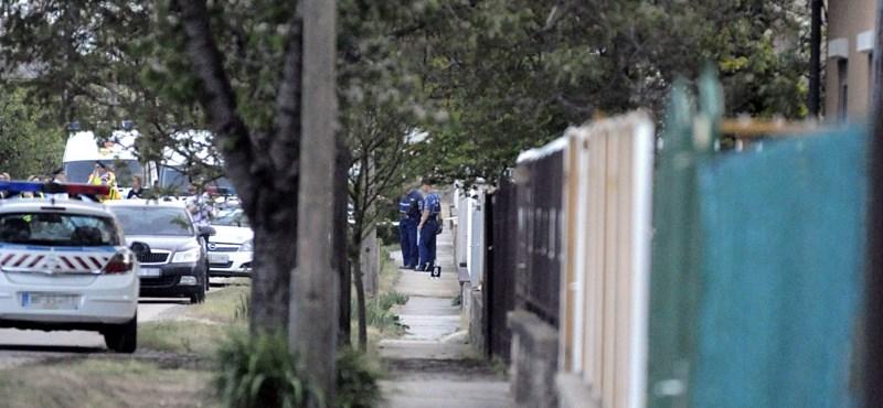 A kerítésbe kapaszkodott az üllői asszony, amikor fejbe lőtték