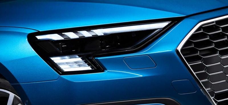 Az új Audi RS3 a lámpájában hordja a kockás zászlót