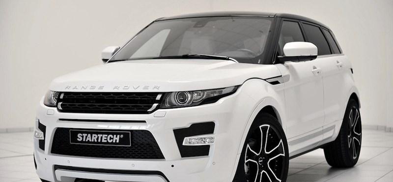 Fotó: ilyen egy ízléses Range Rover tuning