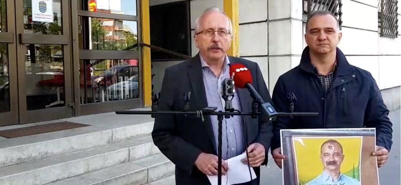 Akasztófára függesztett Dávid-csillagot rajzoltak egy ellenzéki képviselő plakátjára