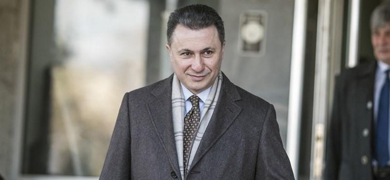 Elvehetik Gruevszki fizetését Macedóniában