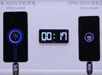 17 perc alatt 0-ról 100-ra: brutális sebességgel tölthet a Xiaomi új gyorstöltője – videó