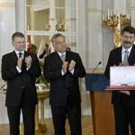 Polgár Judit és Eötvös Péter kapta a Magyar Szent István-rendet