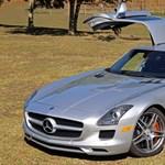 Sirályszárnyas: körbefotóztunk egy gyönyörű magyar Mercedes SLS AMG-t