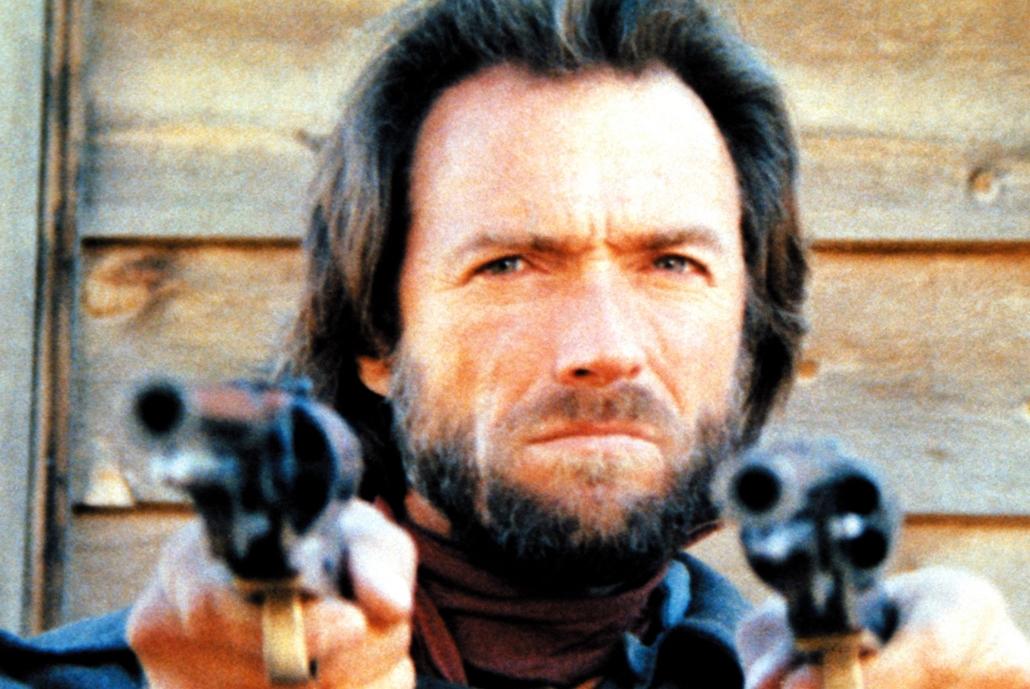 afp - 1976 - Clint Eastwood A törvényenkívüli Josey Wales című filmben 1976-ban.