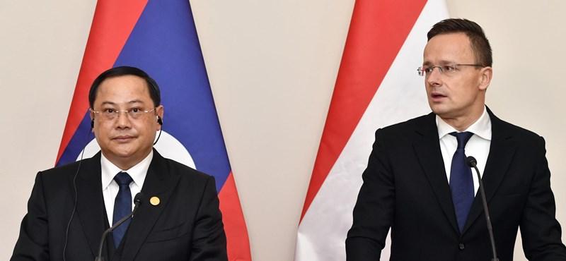Szijjártó: 160 millió dolláros programot indítanak magyar cégeknek Laoszban