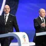 A Kreml szelleme megdelejezte a foci-vb sorsológolyóit
