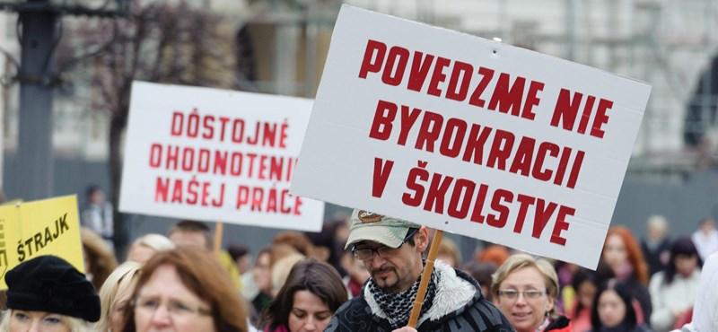 A sztrájk sem segített a szlovákiai pedagógusokon