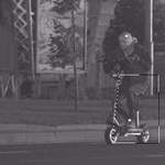 75 km/h-val traffipaxoltak le egy villanyrollerest