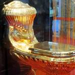 Aranyérmes, aranyozott illemhely a 11. Vécé Világtalálkozón (fotók)