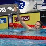 Milák Kristóf ezüstérmes 100 pillangón