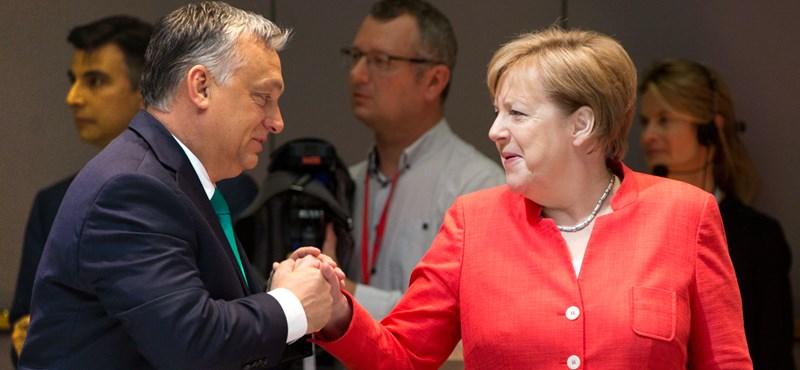 Orbán és Merkel sajtótájékoztatójukon is vitáztak a menekültekről
