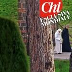 Baseballsapkában kapták le Benedek pápát a lesifotósok