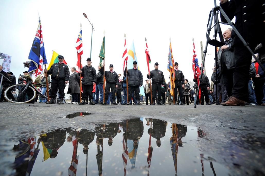 Jobbik tüntetés