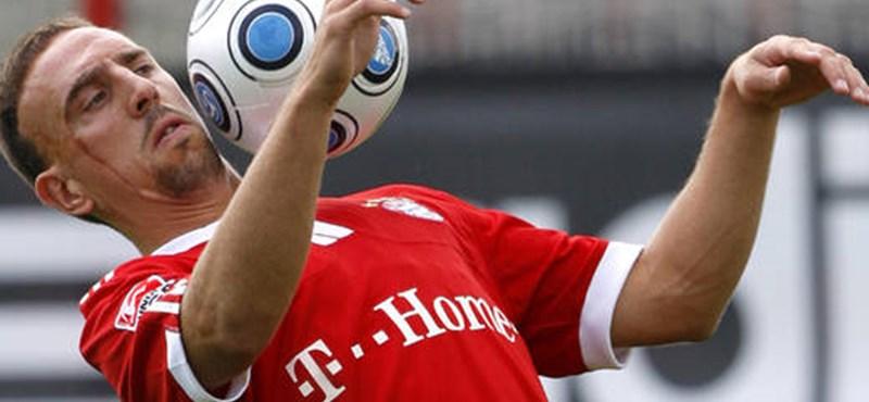Ribéry lett az év labdarúgója a franciáknál