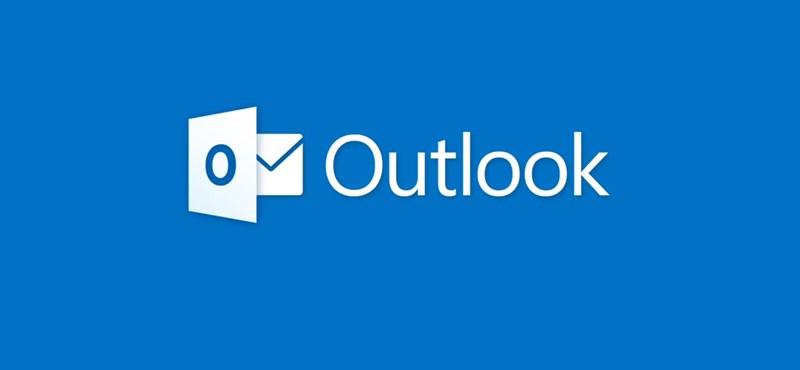 Baj van a Microsoftnál, akadozik az Outlook