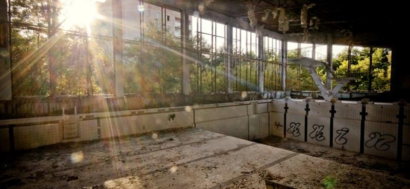 Fotók: 26 éve történt a csernobili atomkatasztrófa