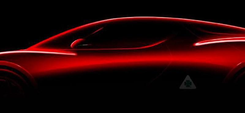 Olasz virtus: Ferrarikat verhet az új hibrid Alfa Romeo 8C