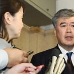 Belebukott a zaklatási vádakba egy japán miniszterhelyettes