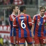 Gatyaszaggató gólt lőtt Lewandowski, de szó szerint – fotó