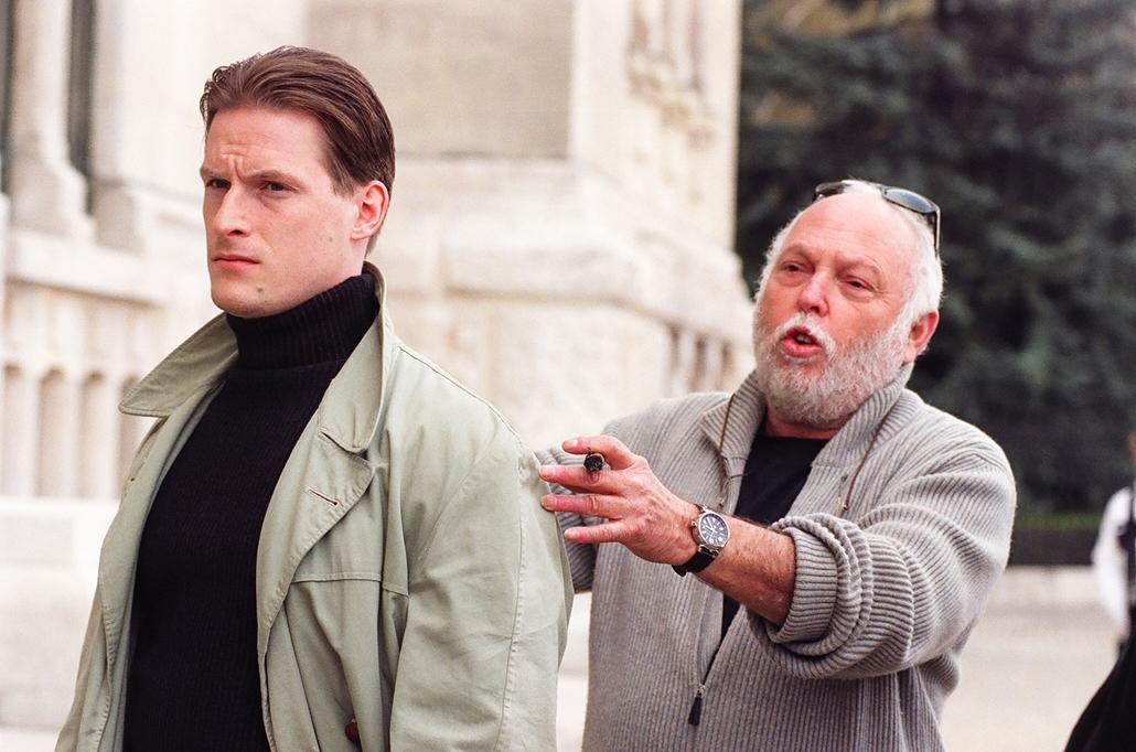 NE HASZNÁLD!!! 2005 Andy Vajna és Fenyő Iván Szabadság szerelem film forgatásán