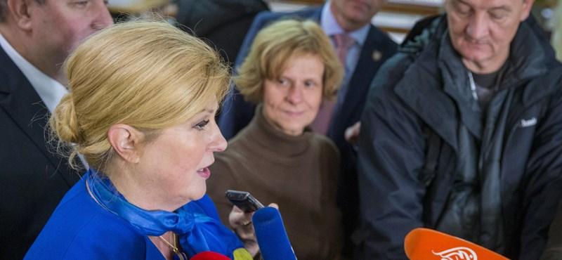 Nincs meglepetés a horvát elnökválasztáson