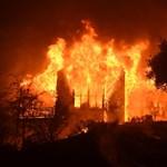 Döbbenetes pusztítást hagyott maga után a kaliforniai bozóttűz – videók