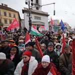 Ezrek demonstráltak a Milla rendezvényén
