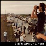 Fotó: 30 évet várt apa és fia az utolsó űrsiklóra közös képükhöz