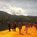 Különleges vízi sétát tehetünk az Iseo tavon