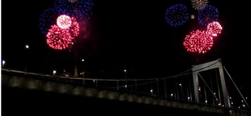 A tűzijáték legjobb percei