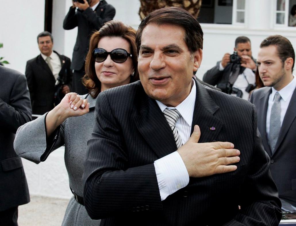 Zine El Abidine Ben Ali,Tunis,2009,Reflektor