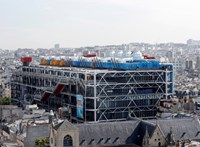 Több mint három évre bezár a párizsi Pompidou Központ