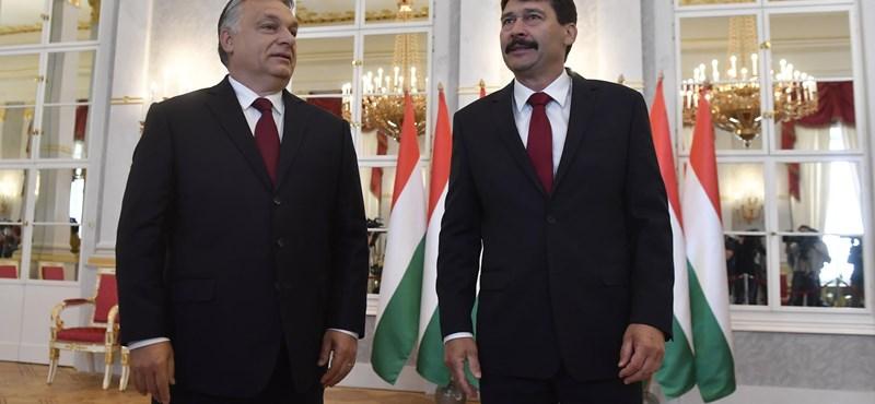 Orbán elfogadta Áder miniszterelnöki felkérését