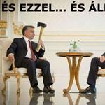 """""""Baltásorbán"""": beindult a mémgyár az azeri botrány miatt"""
