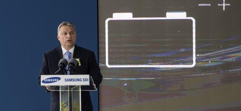 Az ellenzéki Gödtől elvették a Samsung-gyár területét, most milliárdokat költ rá a kormány
