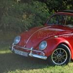 Közel 9 millió forint a legdrágább hazai VW Bogár - videó