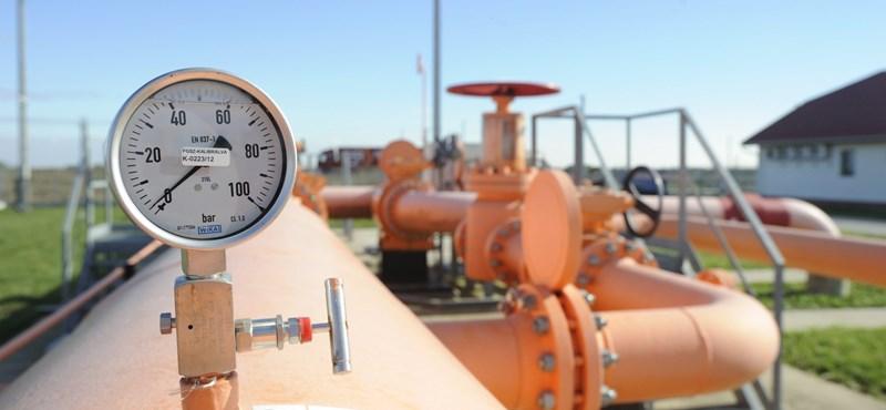 Egy elromlott vezeték miatt kevesebb gáz jön az országba