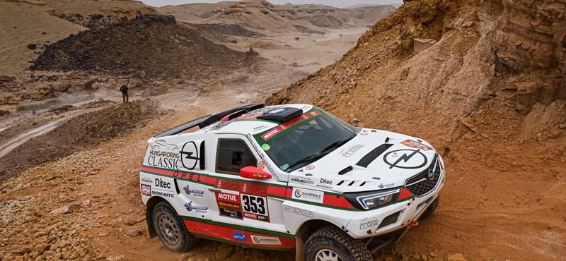 Véget ért a Dakar a Szalay-Bunkoczi párosnak
