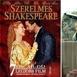 Napi tévéajánló: Szerelmes Shakespeare, A félszemű, Száll a kakukk fészkére