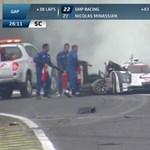 Webber nem emlékszik a vasárnapi Porsche-horrorbukásra