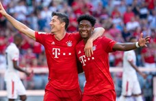Bajnokok Ligája: a Bayern München fél lábbal a negyeddöntőben