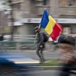 A nap képe: tüntető egyetemisták lepték el a bukaresti utcákat