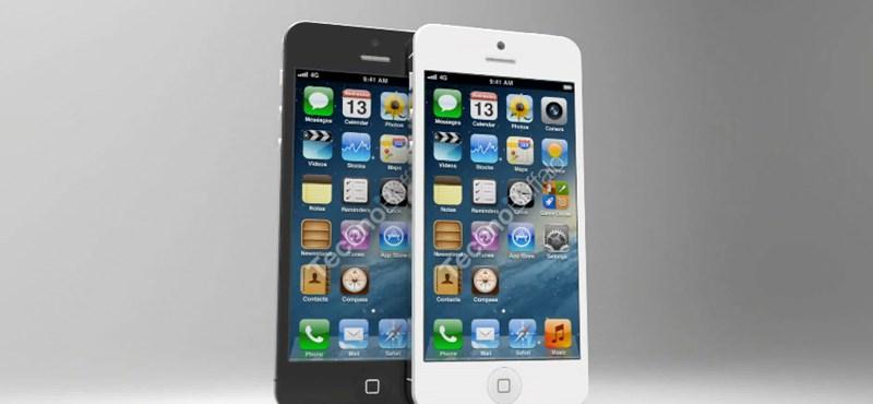 Ilyen lesz az iPhone 5, a nyilvánosságra került alkatrészek alapján! [videó]