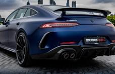 800 lóerős veszedelmet csinált a Brabus a Mercedes-AMG GT 63S-ből