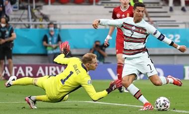 Ronaldo is megtapasztalhatta, hogy milyen keményen ellenőrzik a Puskásba belépőket
