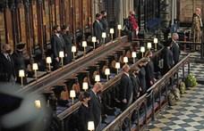 """Fülöp herceg temetésén """"kísérteties"""" pillanatok voltak, mondja a királyi család egyik tagja"""