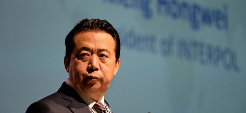 Nyilatkozott Kína az eltűnt Interpol-elnökről
