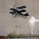 Újra akcióba lendült a zseniális falfirkáló - fotók